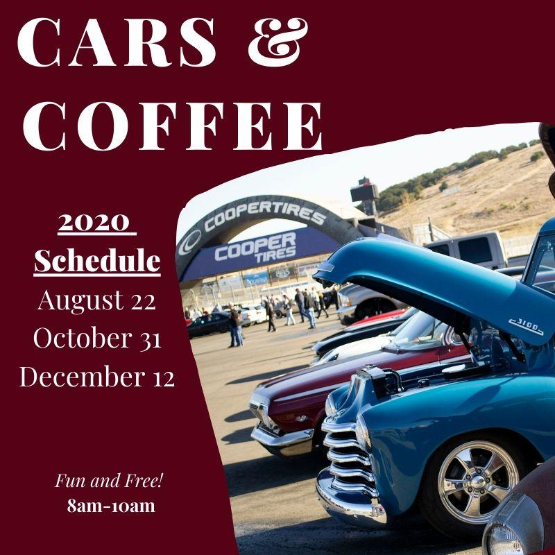 Cars & Coffee Schedule
